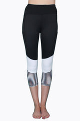 Stripes Just Right - Black and White - Pocket Tight