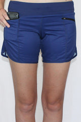 Runner's Dream 5 Pocket Short - Blue