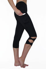 Bow Tie - Pocket Capri - ON SALE