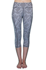 Black and White Checker - Pocket Capri