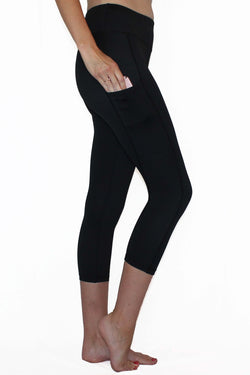 Everyday Black - Pocket Capri  ON SALE