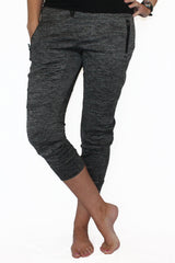 Fleece Lined Pocket Joggers - Gray