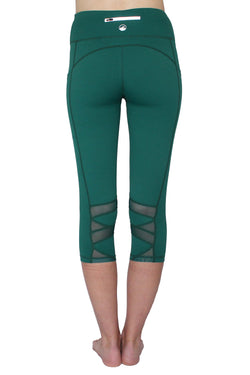 Green Mesh - Pocket Capri