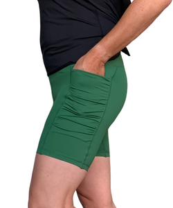 Green 5 inch Pocket Short - NEW