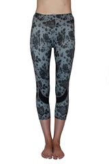 Gray & Black Floral - Pocket Tight