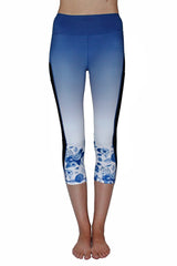 Blue and White Floral  - Pocket Tight