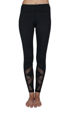 Black Mesh - Pocket Pant - ON CLEARANCE