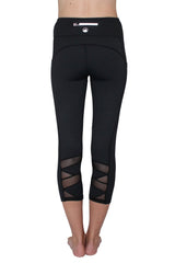 Black Mesh 2.0  - Pocket Capri