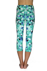 Mint Pixel - Pocket Capri - RESTOCKED