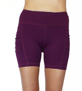 Dark Purple 5 inch Pocket Shorts