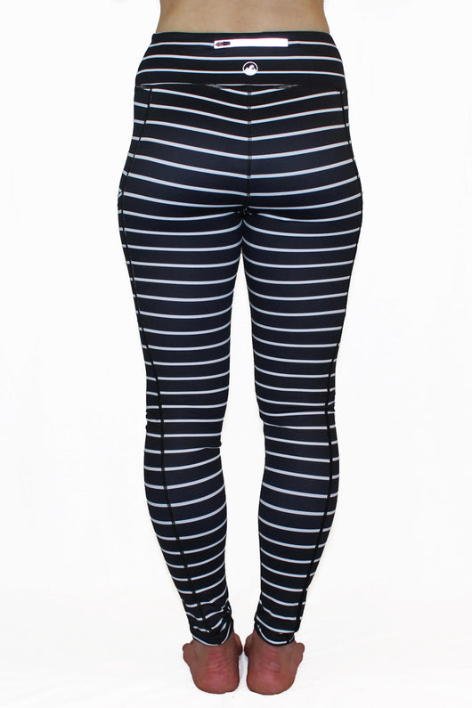 Black and White Stripe 2.0 - Pocket Pant