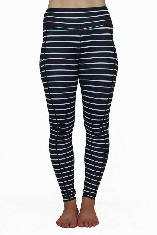 Black and White Stripe 2.0 - Pocket Pant - RESTOCKED