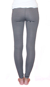 Lightweight Fitted Stripe - Pocket Joggers