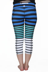 Arctic Stripe - Pocket Capri - ON SALE