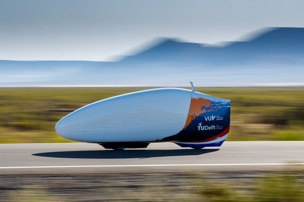 High speed human powered bicycle HTP Delft