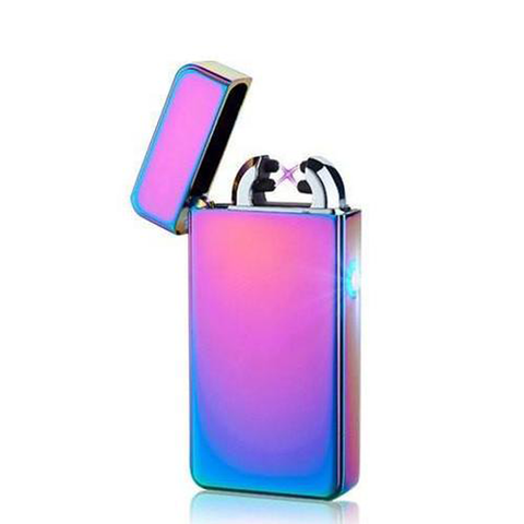 DualArc PlazmaBurn™ - USB Electronic Windproof Lighter!