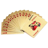 Gold Foil Plated Playing Cards