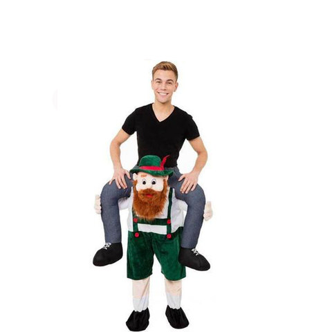 Scottish Dancer Carry Me Ride On Stag Mascot Costume