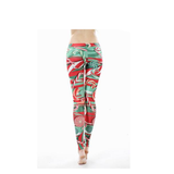 3D Christmas Sexy Present Printed Leggings