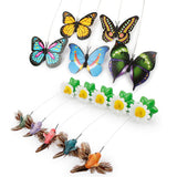 PetSeat™ - Colorful and Funny Rotating Butterfly Scratch Toy For Kitten