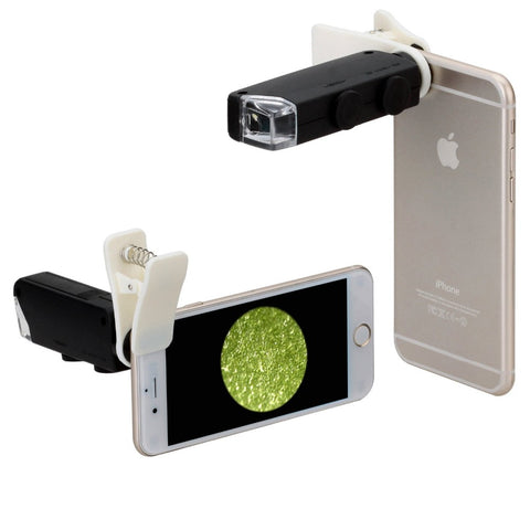 Apexel™ - Universal Clip Jewelry LED 100X Microscope Magnifier