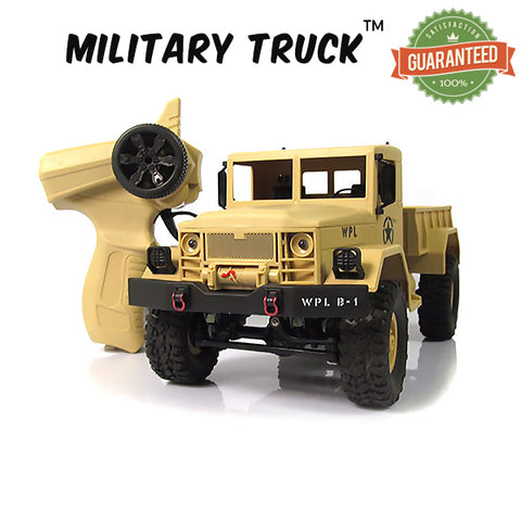 MilitaryTruck™ - RC Rock Crawler Off-Road 4WD Military Truck!