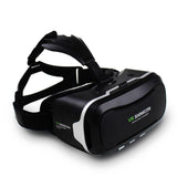 Virtual Reality 3D Glasses Headset Movies Games + Bluetooth Remote Control