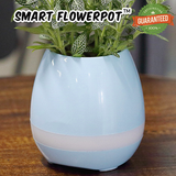Smart FlowerPot™ - LED Bluetooth Flowerpot Speaker!
