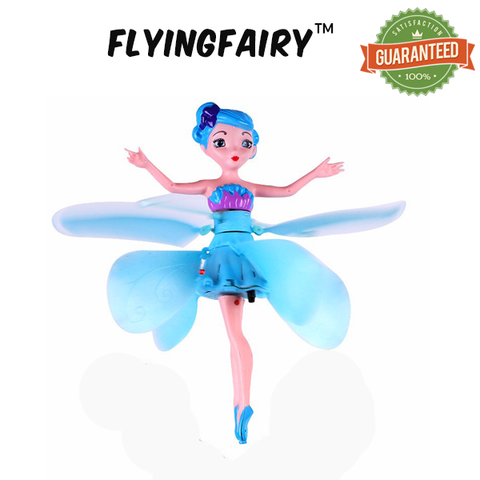 FlyingFairy™ - Electronic Flying Fairy with Hand Sensor Control!