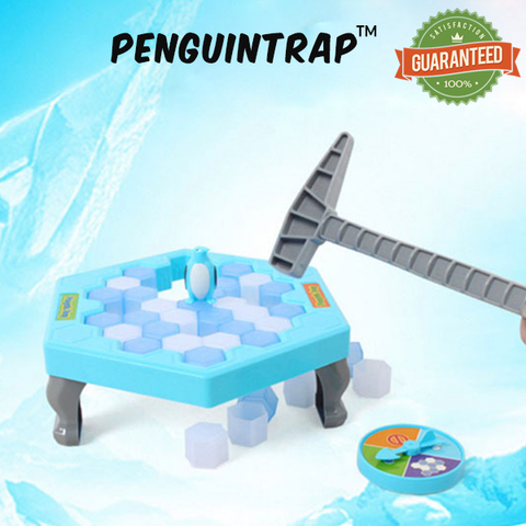 PenguinTrap™ - Amazing Interactive Ice Breaking Game Puzzle!