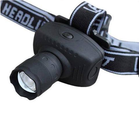 600 Lumens LED Zoomable Headlight
