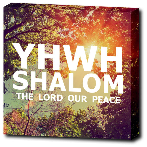 YHWH SHALOM - The Lord Our Peace - 12
