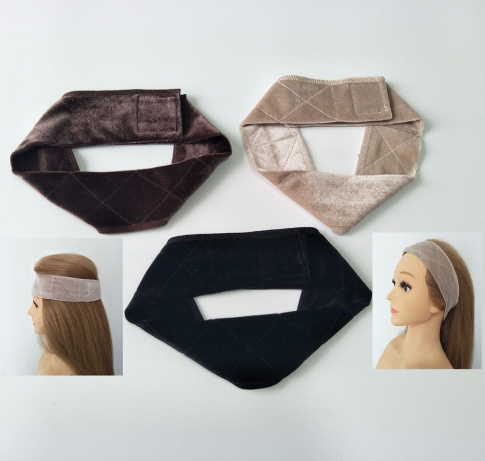 Anti-Slip Headband with Velcro - Ash Purple (Shipping: 2-4 Weeks)