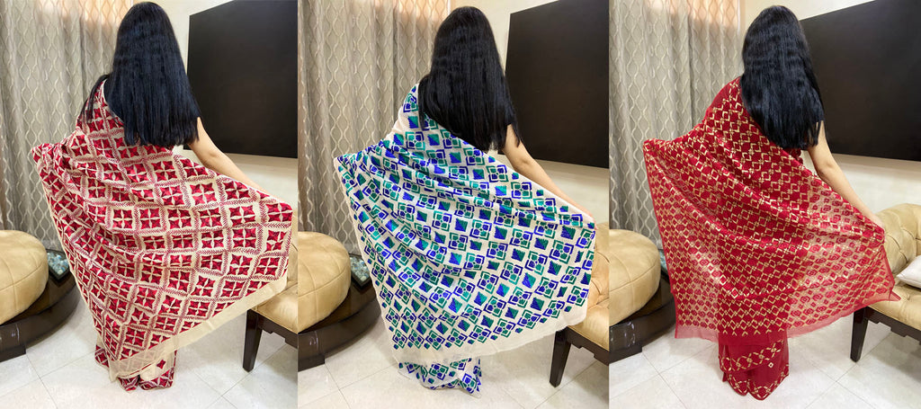 Phulkari Sarees That Will Take Your Breath Away