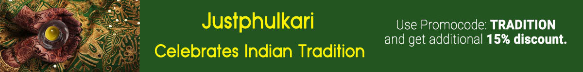 Justphulkari Offer - Coupon: TRADITION