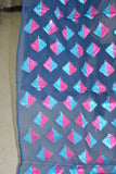 Just Phulkari Blue Saree