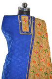 Phulkari Suit with Full Jaal Dupatta