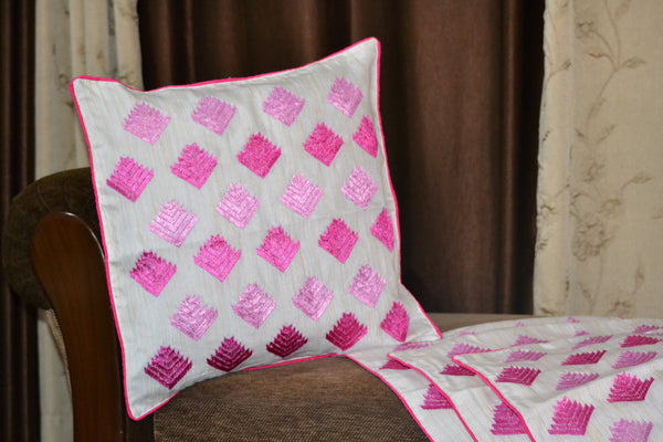 Just Phulkari Cushion Cover