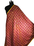 Just Phulkari Cotton Bagh
