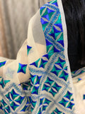 Phulkari Hand Embroidery Saree