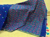 Hand Embroidered Phulkari Saree