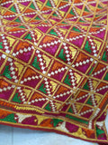 Just Phulkari Red Bagh