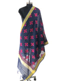 Just Phulkari Hand Embroidery Stole