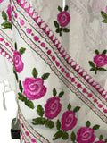 Just Phulkari Hand Embroidery Dupatta