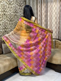 Organza Embroidery Saree