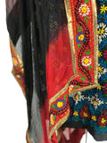 Just Phulkari Black Suit