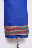 Phulkari Suit with Net Dupatta