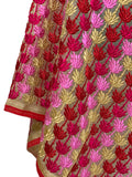 Machine Phulkari Dupatta