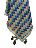 Just Phulkari Skyblue duatta