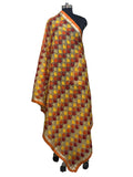 JustPhulkari Machine Embroidery Dupatta